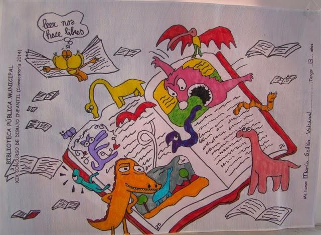 Xx Concurso De Dibujo Infantil Organizado Por La Biblioteca